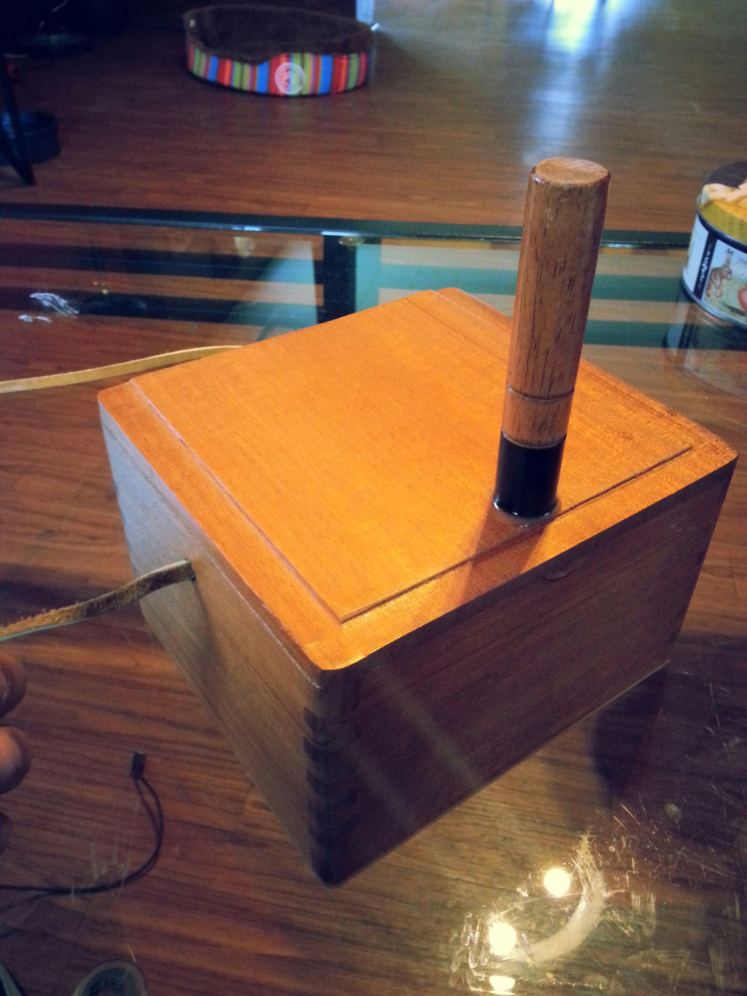 Make your very Own Cajita Drum. (Latin Percussion)