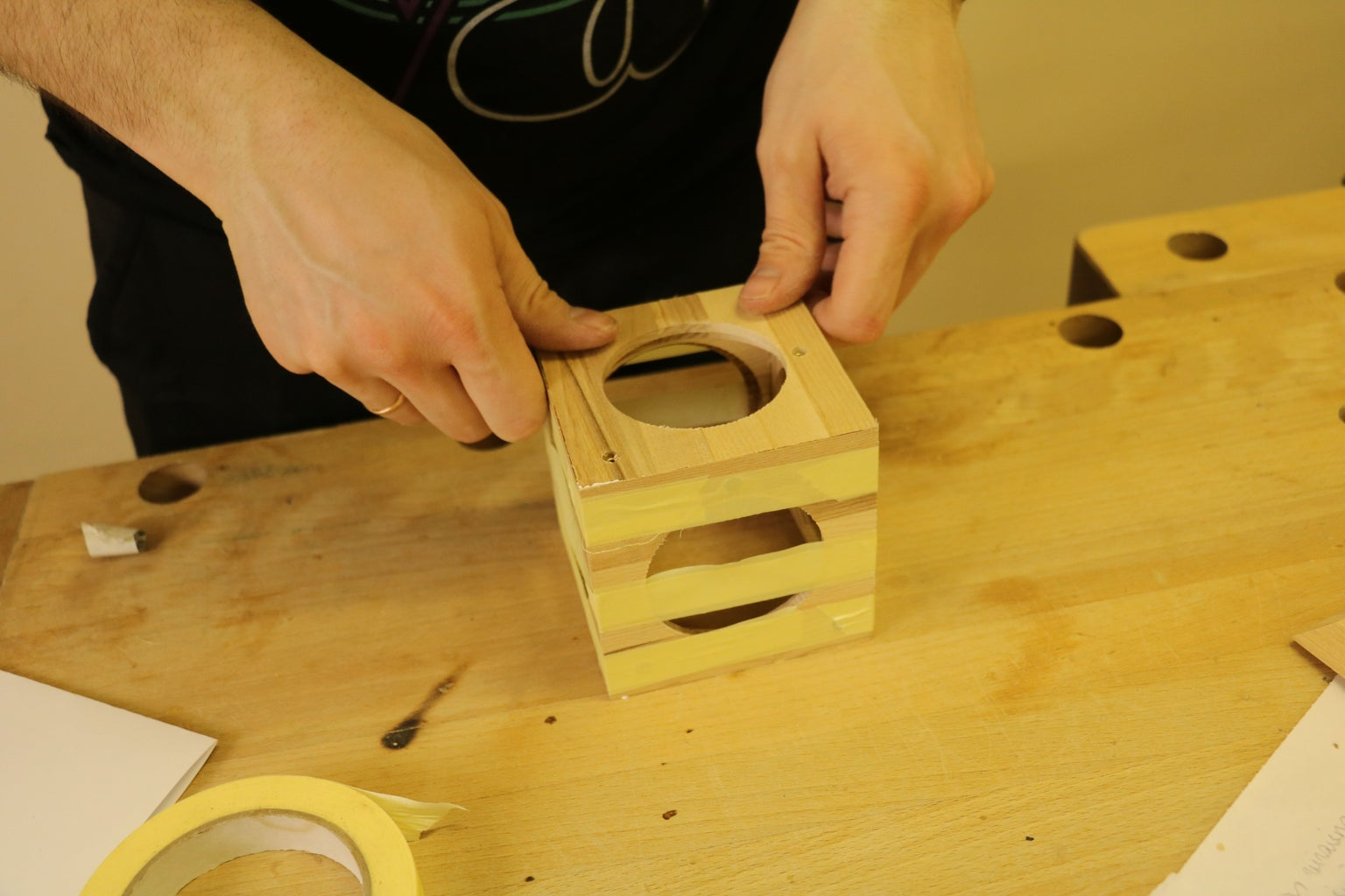 Gluing Cube