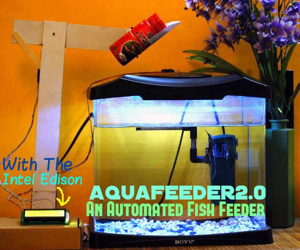 AquaFeeder 2.0: Automatic Fish Feeder (with WiFi)