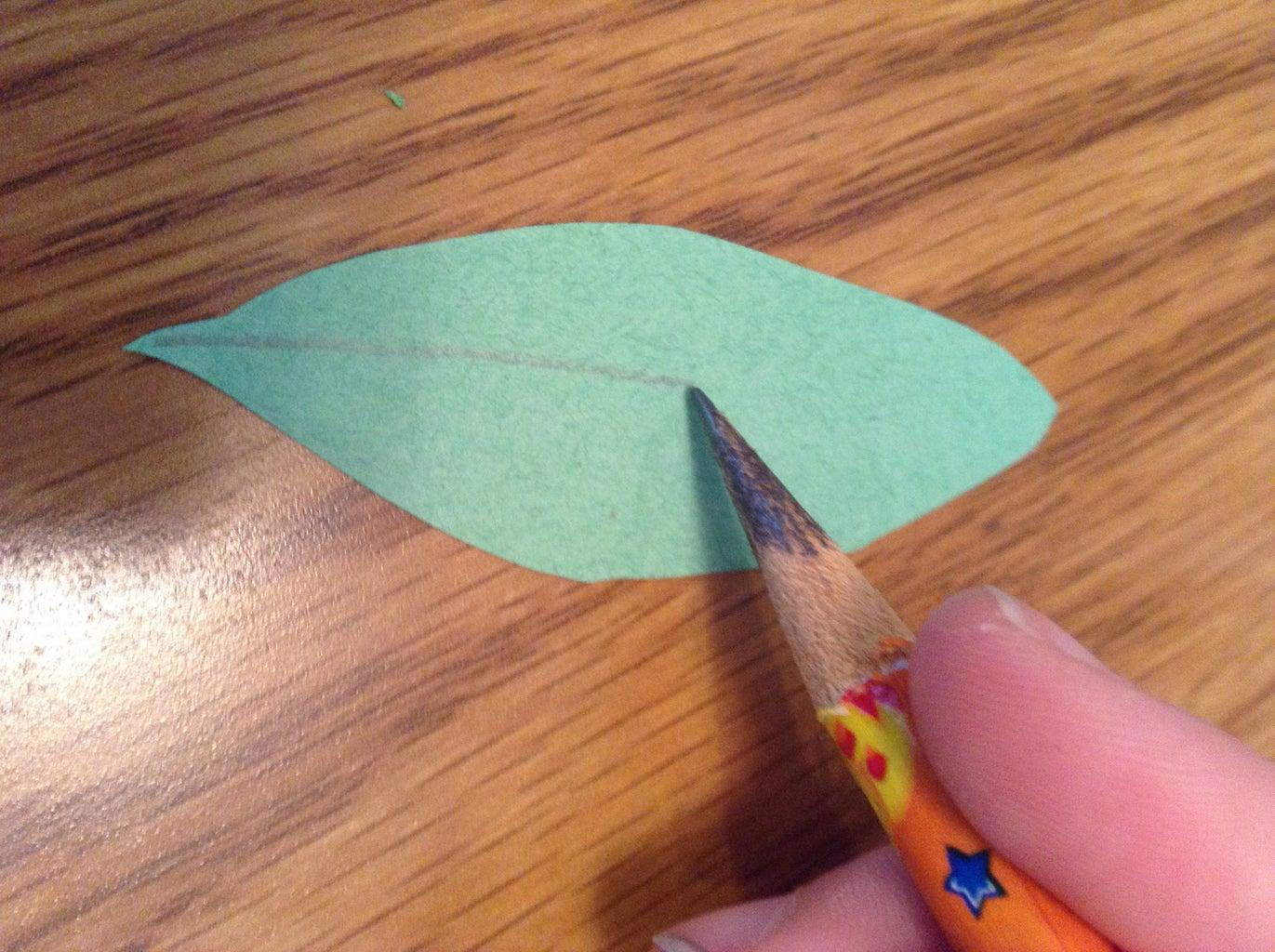 Make the Bract/leaf