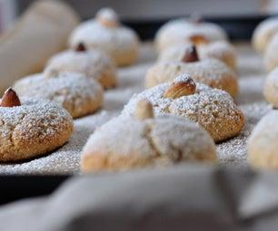 乳糖和不含麸质Amaretti