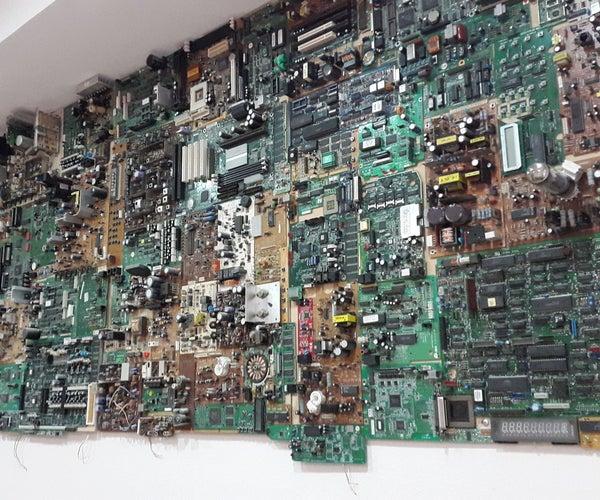 PCB Circuit Wall