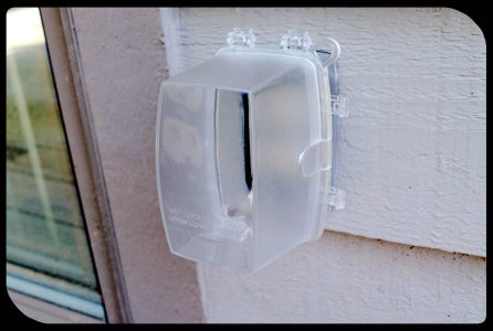 Rainproof Outdoor Outlet Cover