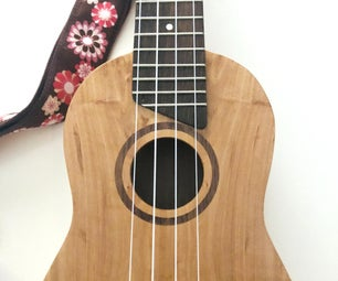 Soprano Ukulele (From a Log!)