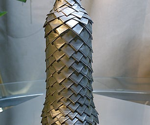 """Removable """"Dragon Skin"""" Bottle Cozy From Duct Tape [Updated]"""