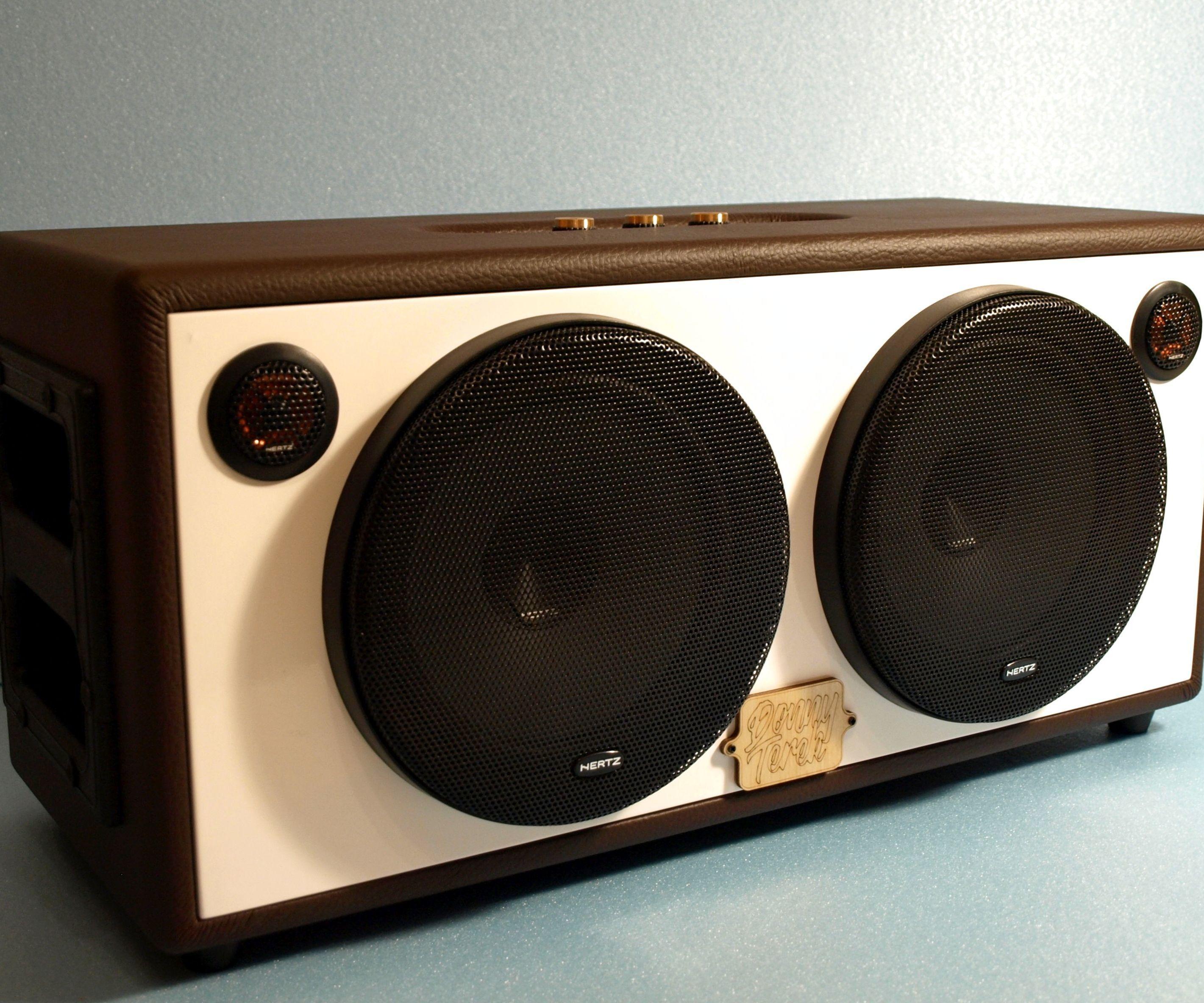 DIY Bluetooth Boombox Speaker   HOW TO