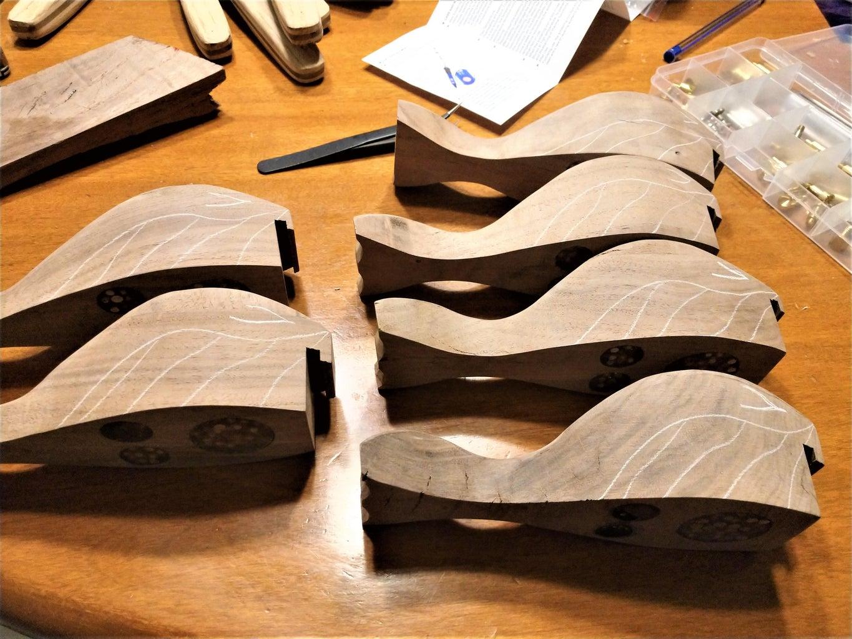 Sanding, Wood-burning, and Finishing