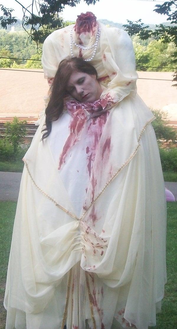 The Headless Woman Illusion Costume