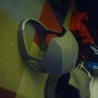 Hiro Hamada Papercraft Helmet