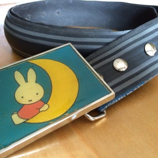 Trendy Belts From Old Bicycle Tires