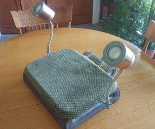 Steampunk Laptop Audio Amplifier