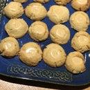KETO Caramel Thumbprint Cookies