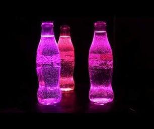 Arduino & Neopixel Coke Bottle Rainbow Party Light