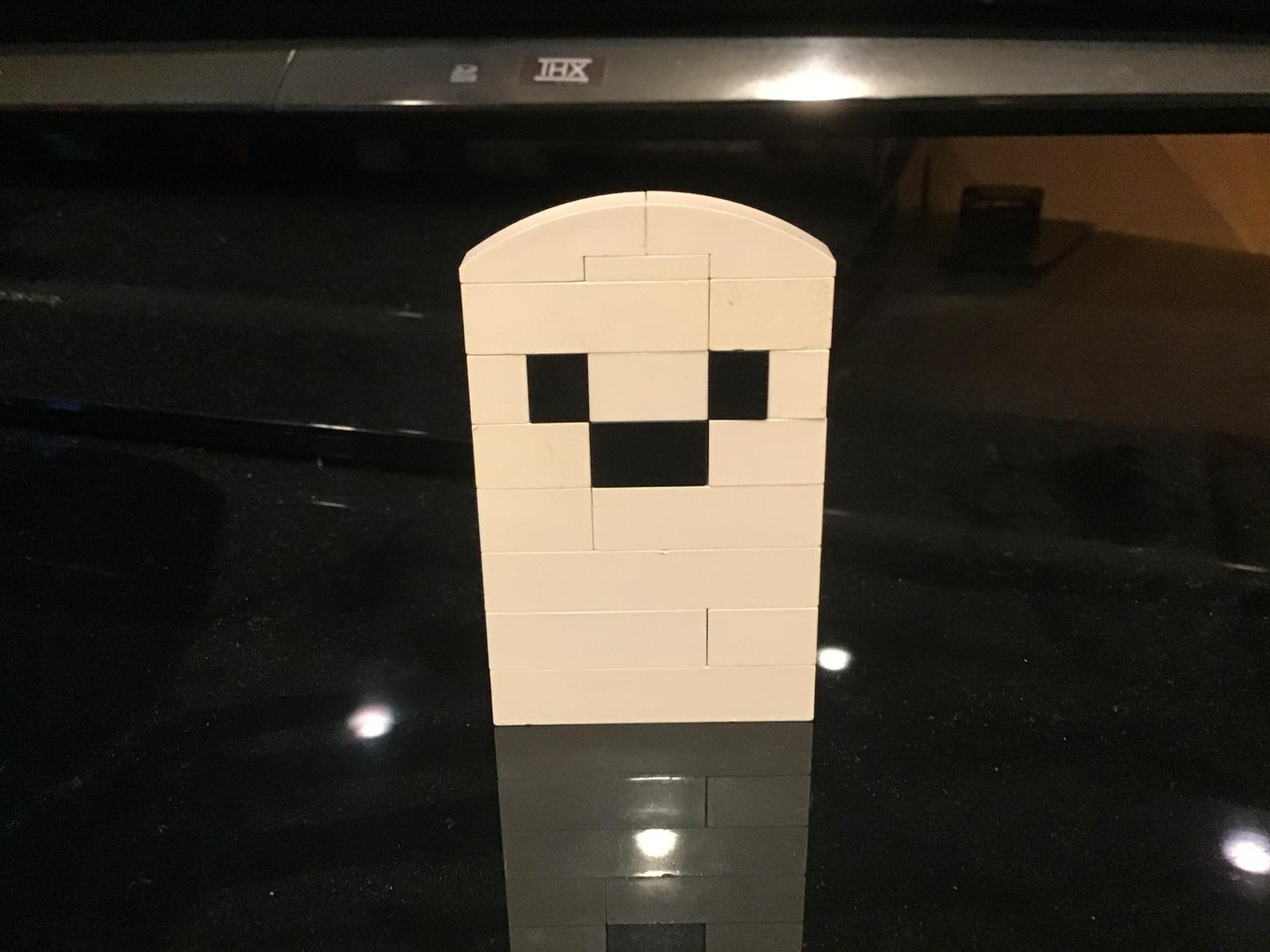 Lego Ghost Perfect for Halloween Indoor Decoration!