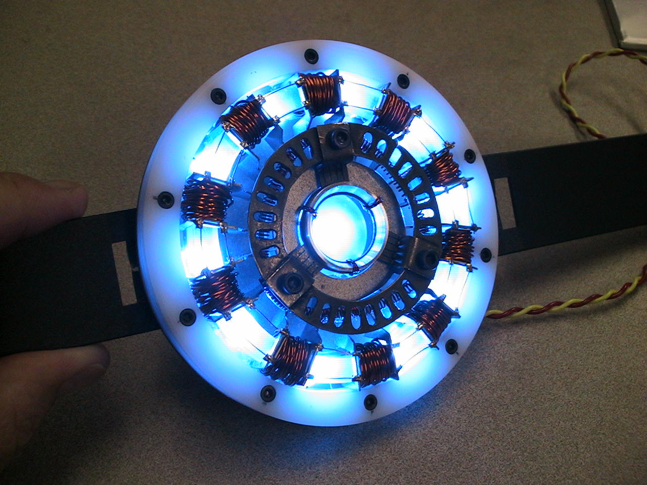 Make an Iron Man Arc Reactor