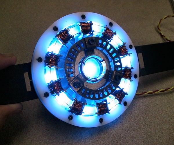 Make an Iron Man Arc Reactor