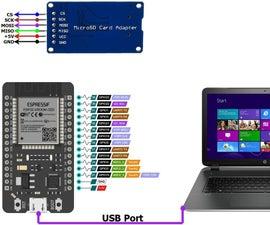 ESP32 – Micro SD Card Interface