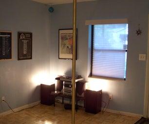 DIY Stripper Pole! (Stripper Not Included)