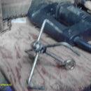 How to make a metal grappling hook without welding