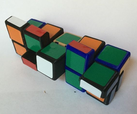 Split 1x2x5 Twisty Puzzle