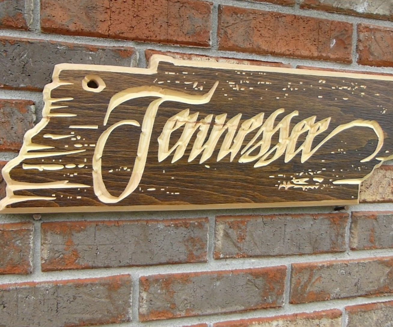 Rustic Tennessee Sign