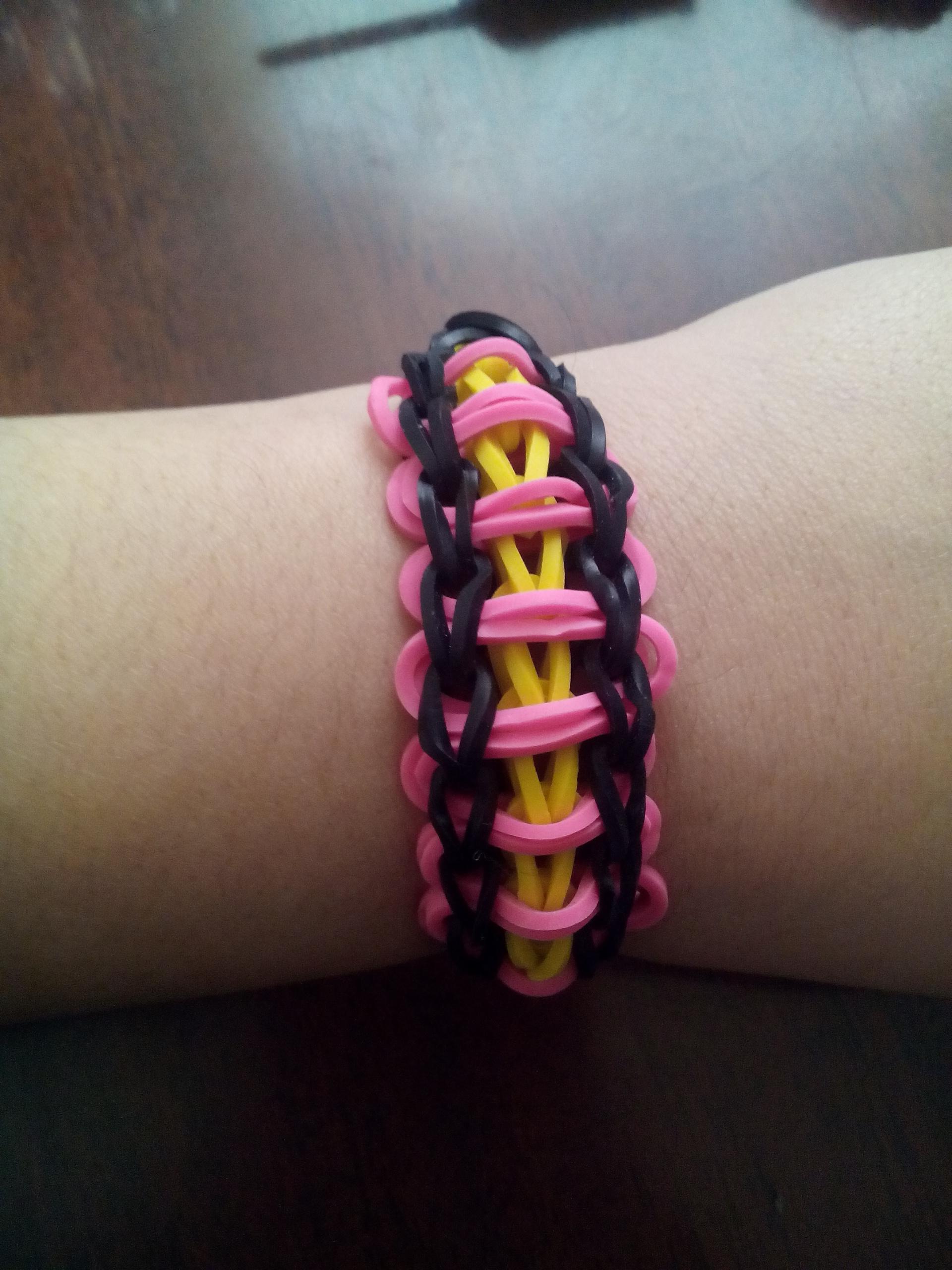 loom band ladder bracelet