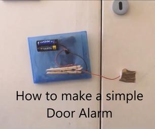 How to Make a Simple Door Alarm