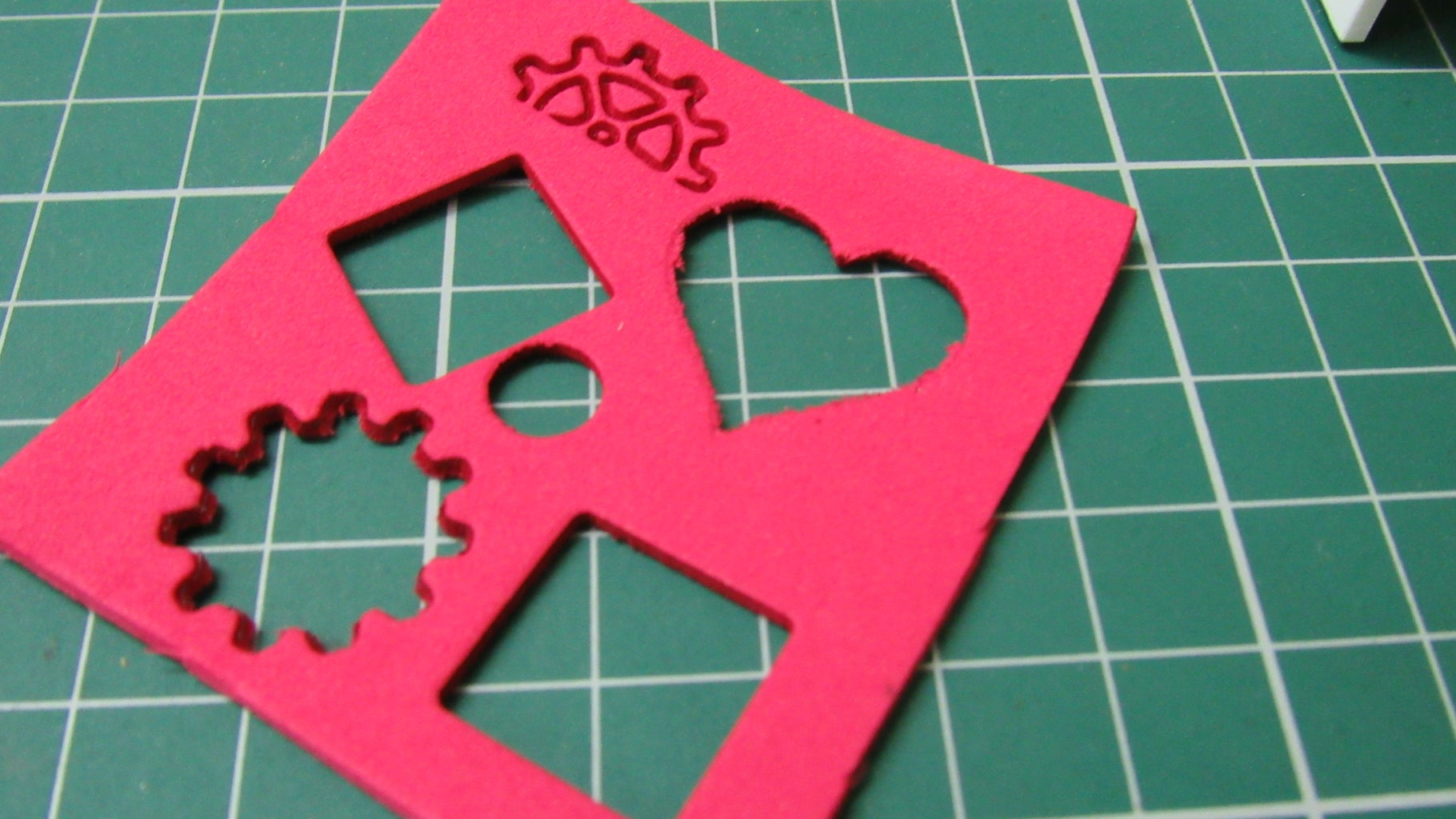 Engraving and Cutting Foam