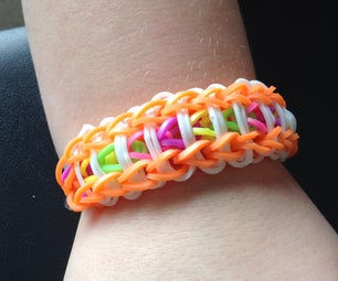 Rainbow Loom Ladder Braclet
