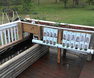 """Easy Aquaponics From """"mostly"""" Re-purposed Materials"""