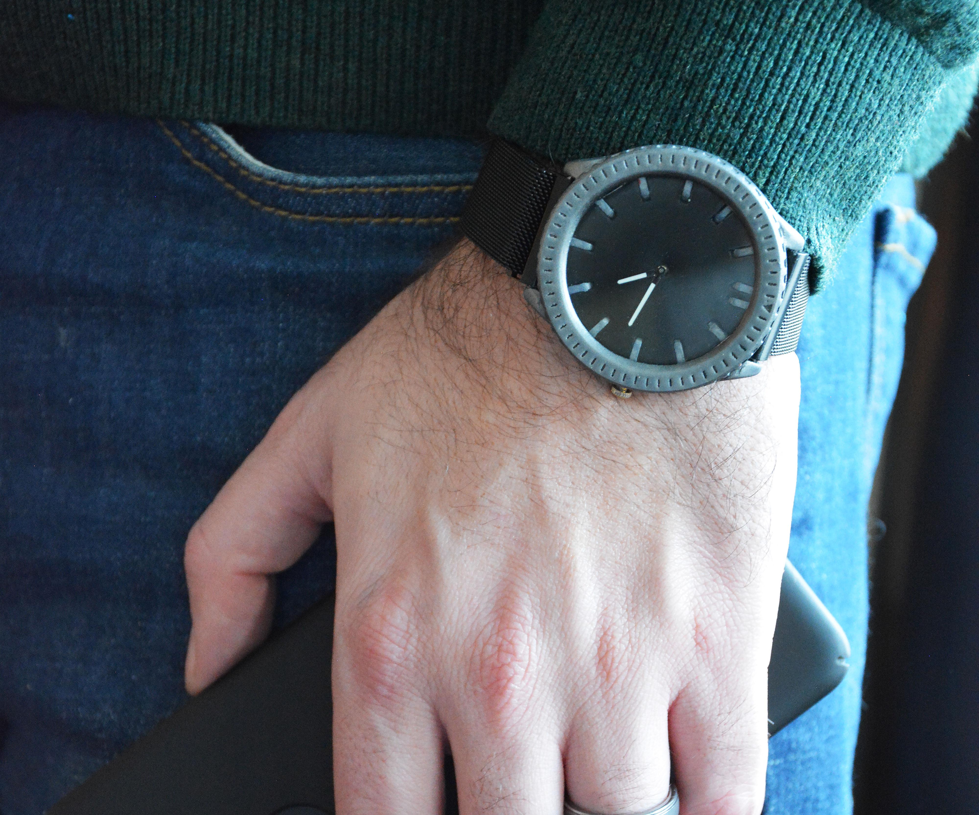 Modular Wristwatch - 3D Printing Build