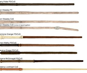 Easy to Make a Harry Potter Wands