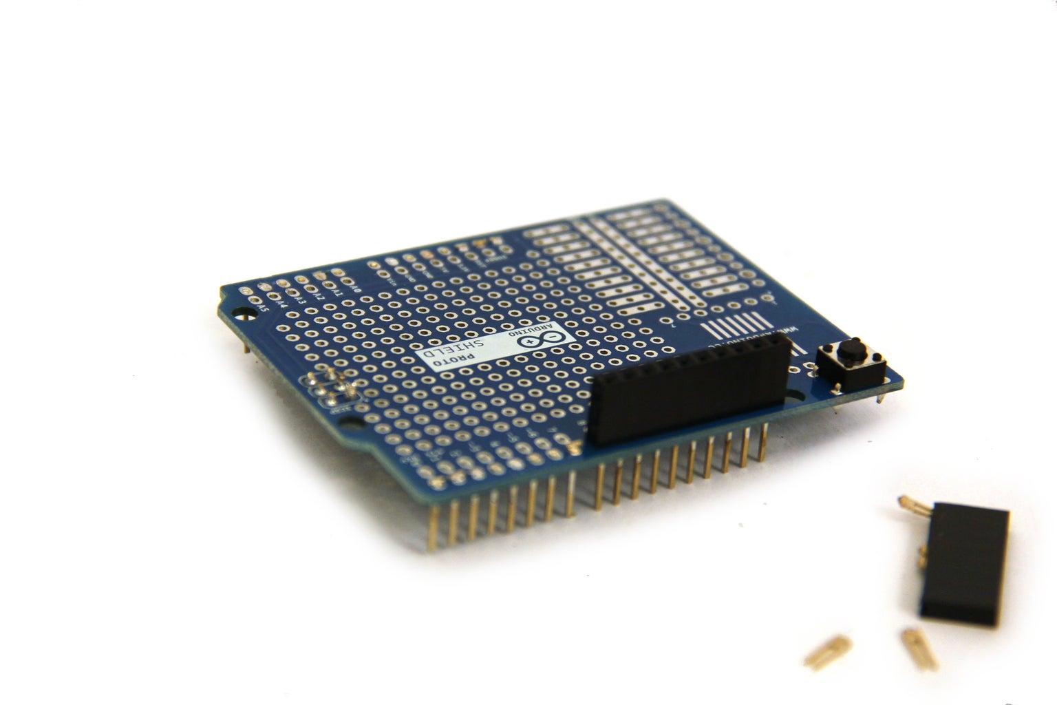 Prepare Arduino Proto Shield