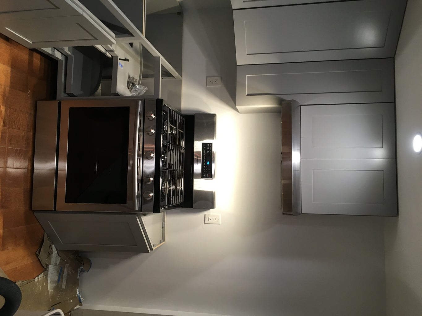 Installing Lower Cabinets
