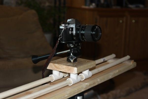 Build a Horizontal Sliding Camera Rig (Analog/Digital)