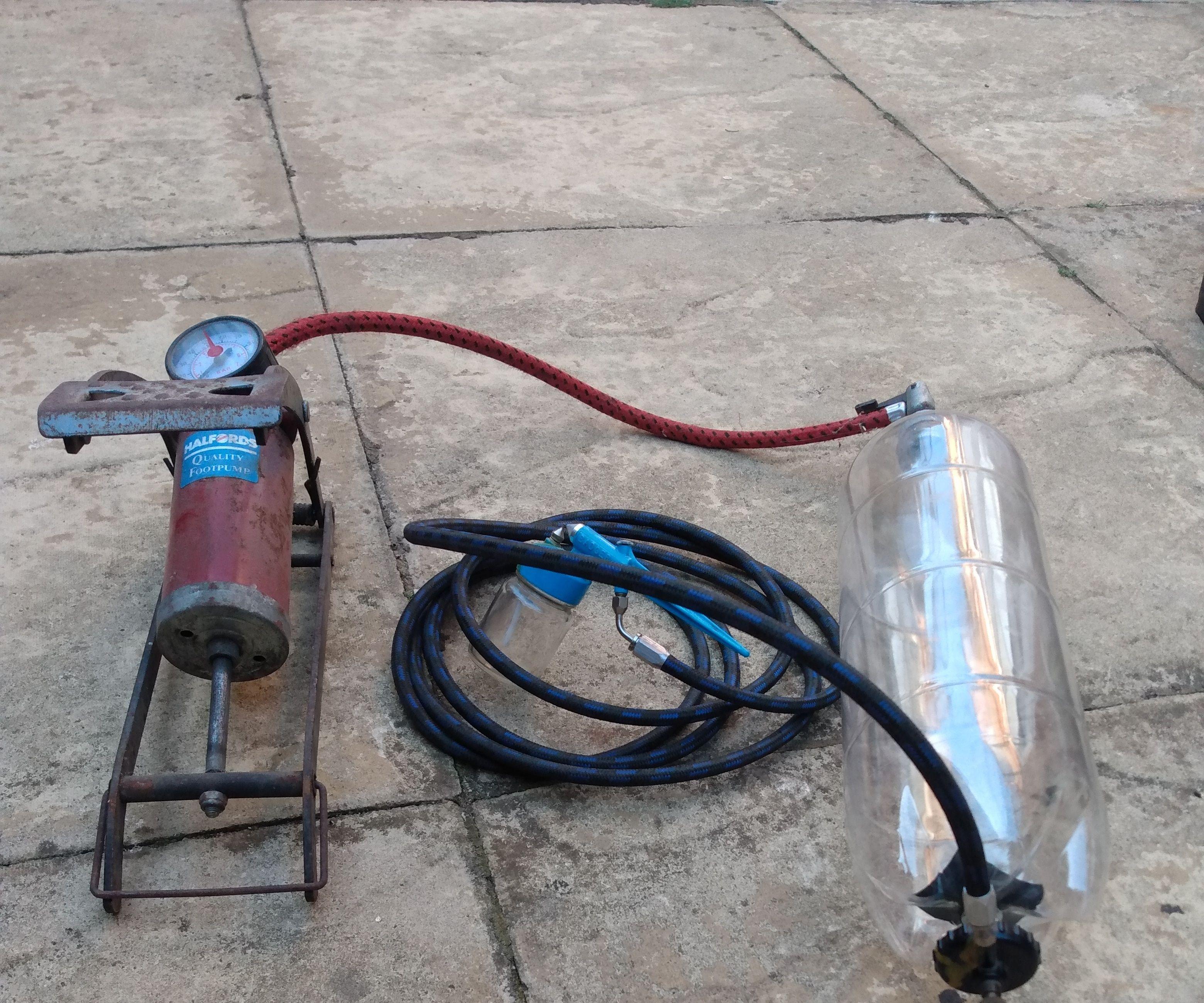 Manual Airbrush Compressor