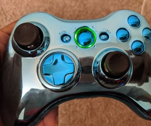 Replacing the Shell of a Wireless Xbox 360 Controller