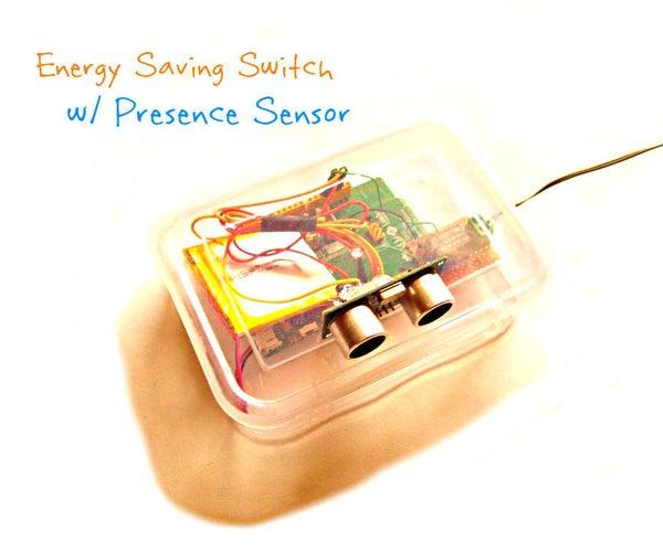 Energy Saving Switch With Presence Sensor