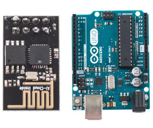 Using ESP-01 and Arduino UNO