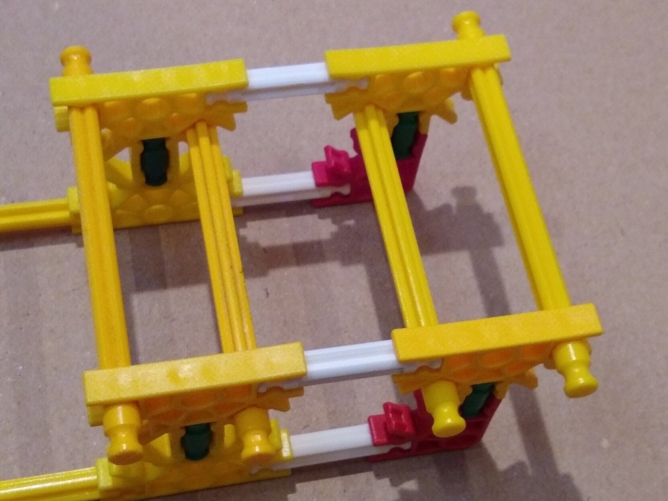 Build the Bobble Carriage and Attach to the Motor-Wheel Assembly