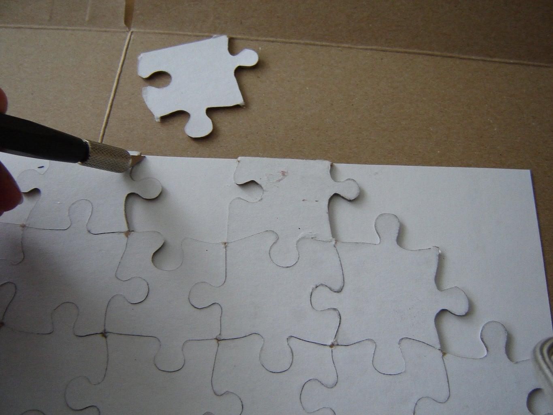 Cut Out Puzzle Shape