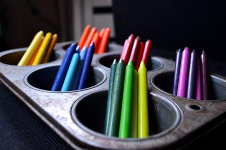 Prepare Crayons