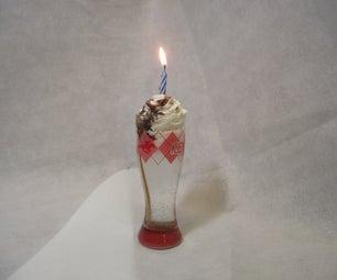 Chocolate Birthday Cake Shot