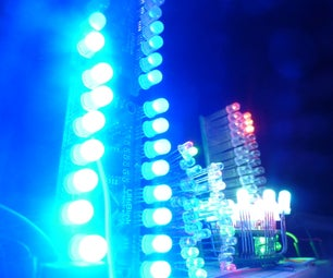 Hundreds of LEDs on Arduino: a New Way From the Past