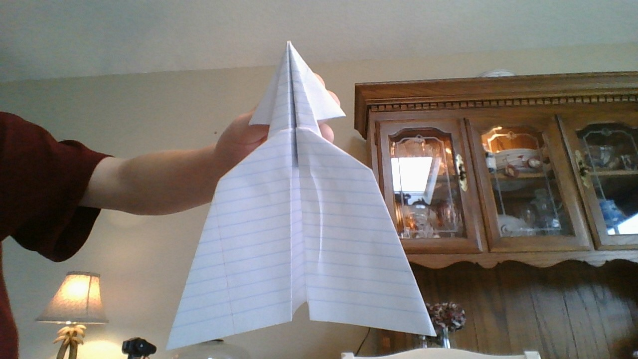 How to Make the Trident Paper Airplane