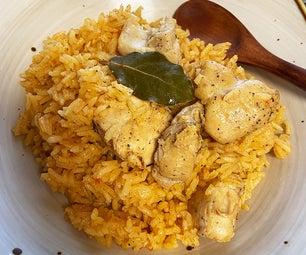 arroz con pollo(鸡肉米饭)
