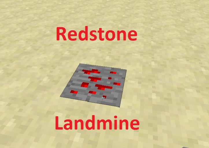 Redstone Landmine