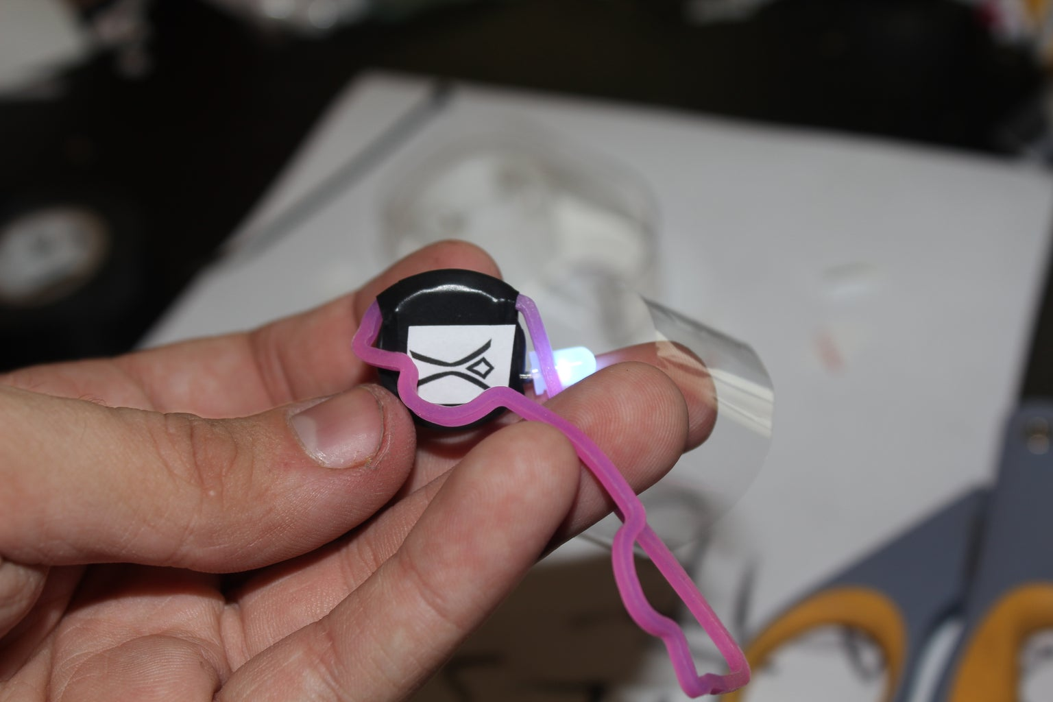 Attaching Shapey Band/Stickers