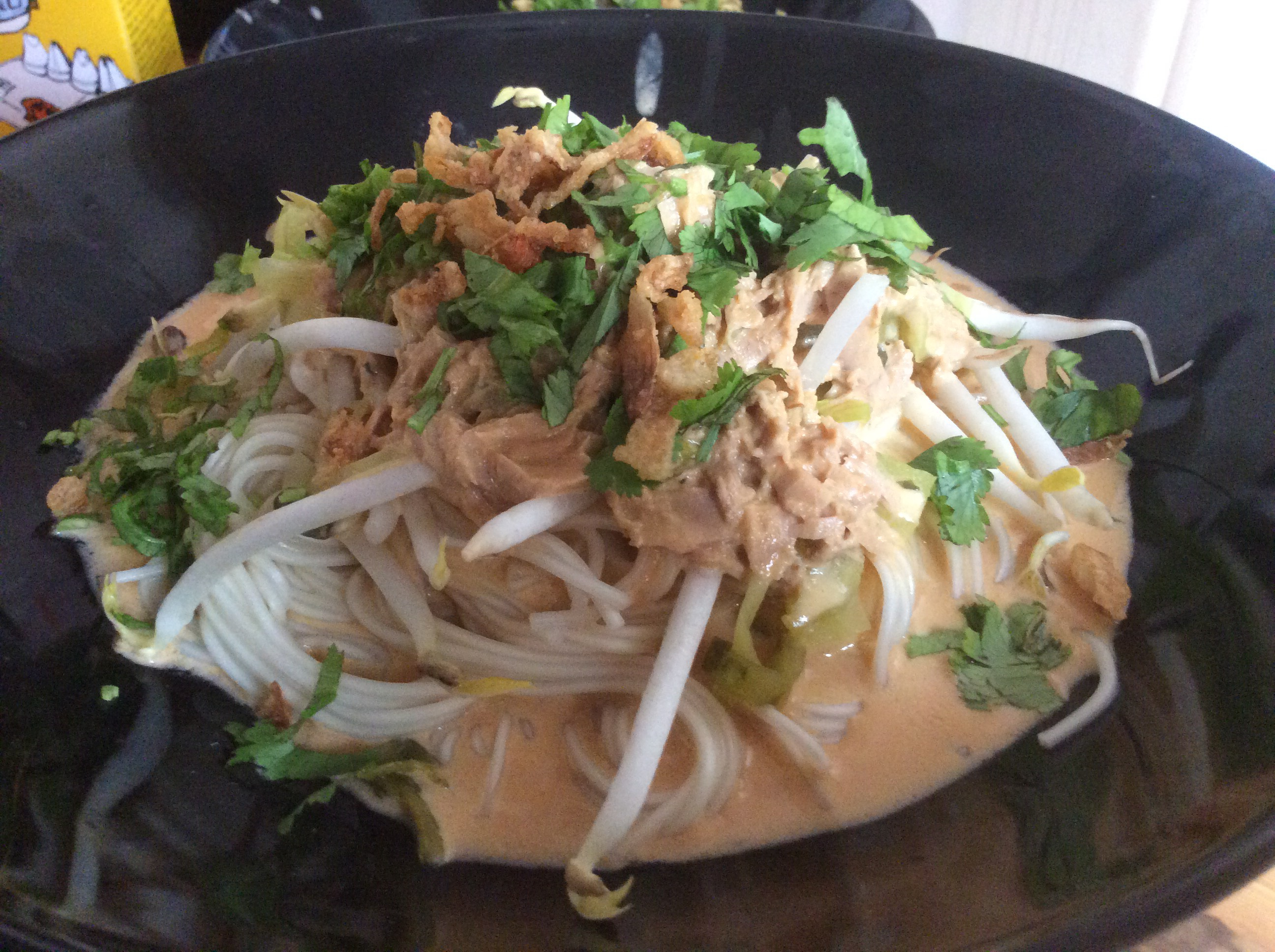 Nam Ya Curry ( Thai Minced Fish Curry)