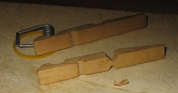 Clothespin Match Gun